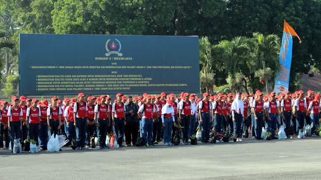 Persiapan Prakerin, SMK PGRI 3 Gembleng Kedisiplinan 787 Siswa di Dodikjur