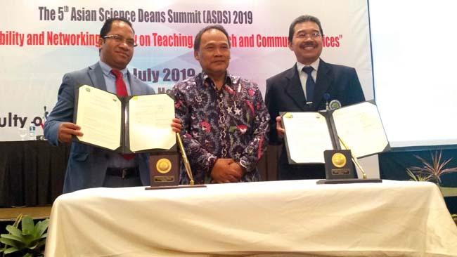 Sinergi Dekan MIPA se-Asia Tingkatkan Kualitas Pendidikan Sains