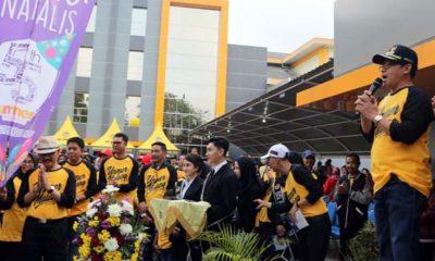 Walikota Malang Sutiaji menyampaikan harapannya kepada civitas akademika Unmer Malang. (ist)