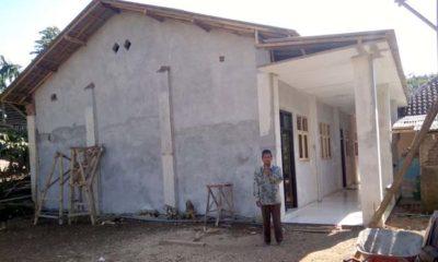 KOKOH : Gedung Yayasan KH.Abu Bakar Dusun Sumber Gentong Klepu. (H Mansyur Usman/Memontum.Com)