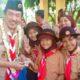 PRA SIAGA - Wabup Sidoarjo, Nur Ahmad Syaifuddin membuka acara Jambore Pra Siaga yang diikuti sekitar 1.250 peserta di Alun-Alun Sidoarjo, Sabtu (3/8/2019)