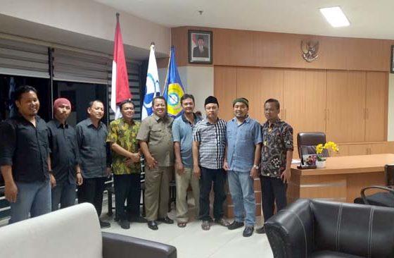 Ketua IKA Alumni UTM, tokoh PMII, Alumni HMI, Alumni GMNI dan juga Agung Ali Fahmi melakukan pertemuan tadi malam, (16/9/2019)