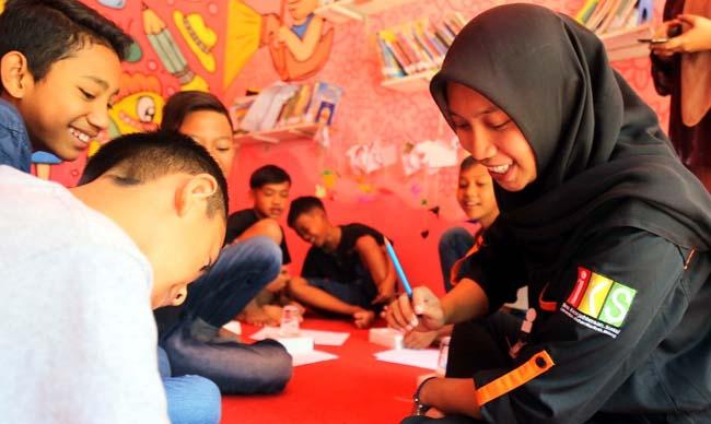 Animo siswa belajar bahasa Arab. (ist)